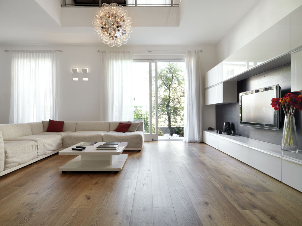living room yang di tata baik
