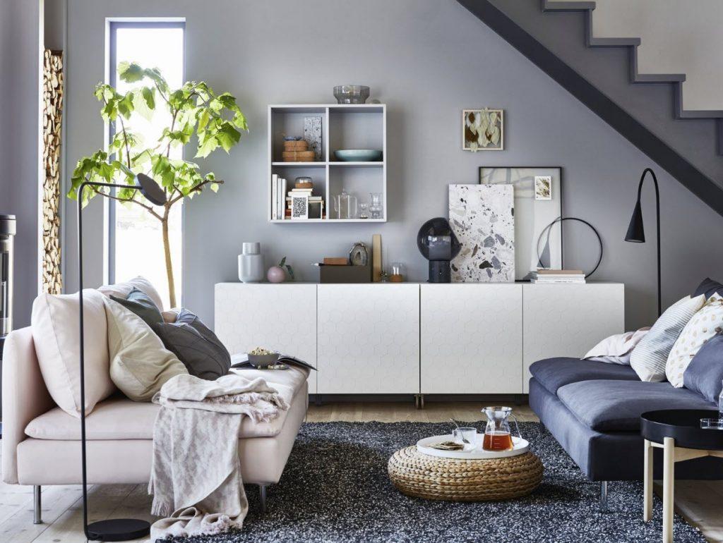 Penggunaan karpet di ruang tamu minimalis
