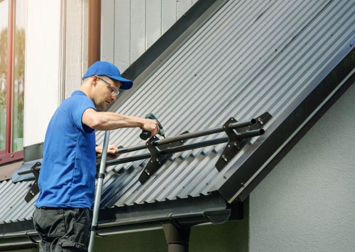 pemasangan atap spandek yang baik