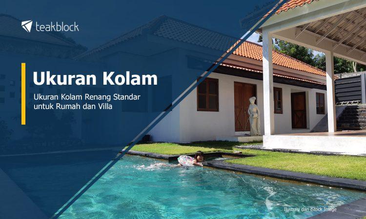 Ukuran Kolam Renang Standar Untuk Rumah Dan Villa